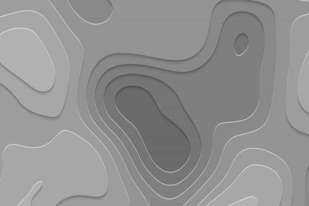 Geometryczne tło cięcia papieru Premium Wektorów