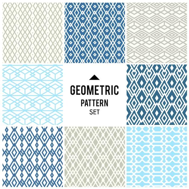 Geometryczne tło z romb i węzłów. abstrakcyjny wzór geometryczny Darmowych Wektorów