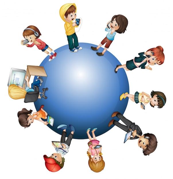 Globalna Technologia Darmowych Wektorów