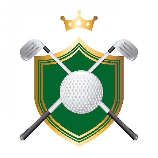 Golf Premium Wektorów