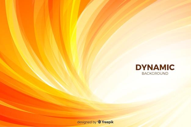Gradientowe Tło Z Dynamicznymi Kształtami Darmowych Wektorów