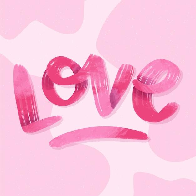 Gradientowy Styl Na Literę Miłości Darmowych Wektorów