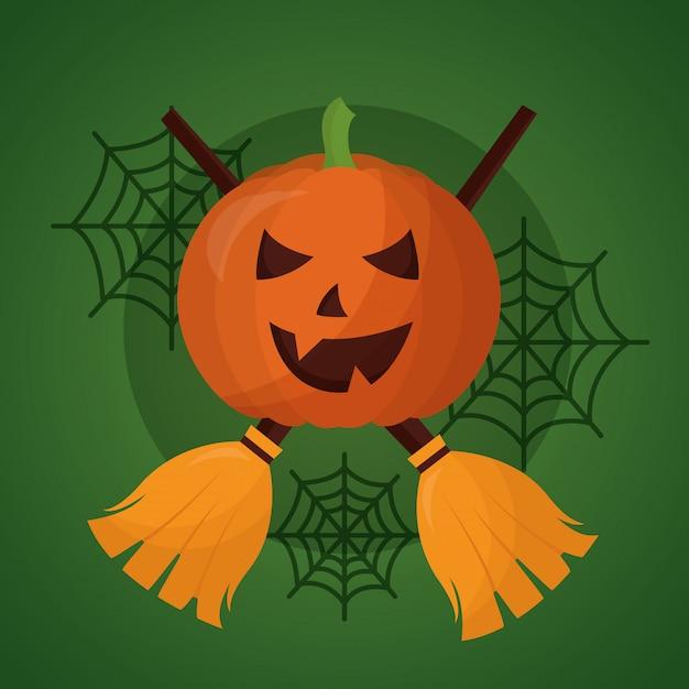 Happy halloween day Darmowych Wektorów