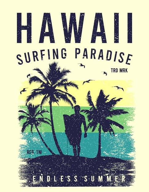 Hawaje Premium Wektorów