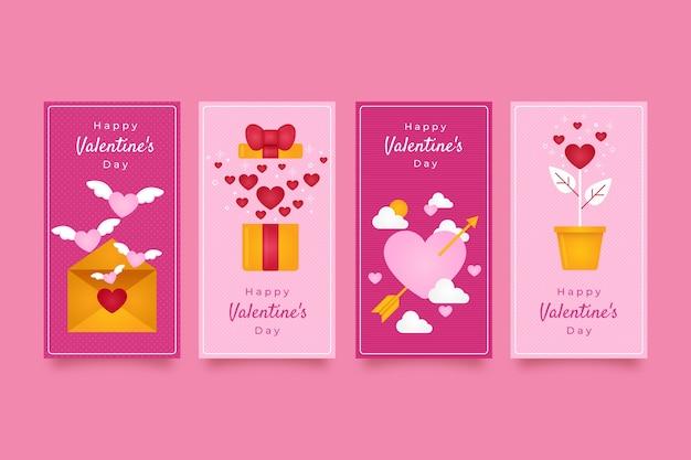 Historia Super Sprzedaży Na Walentynki Darmowych Wektorów