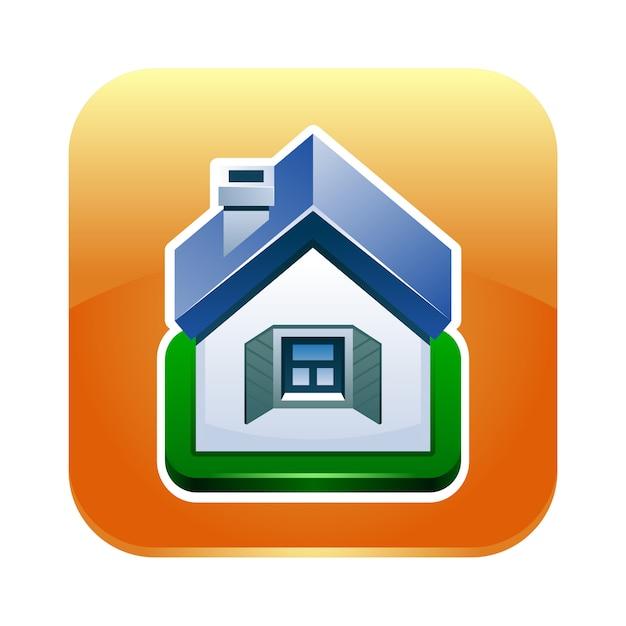 Ikona domu Premium Wektorów