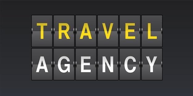 Ikona Firmy Podróży Premium Wektorów