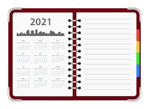 Ikona Kalendarza Organizatora Roku Premium Wektorów