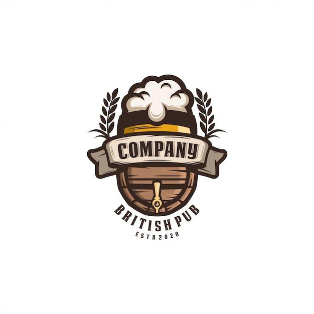 Ikona piwa Premium Wektorów