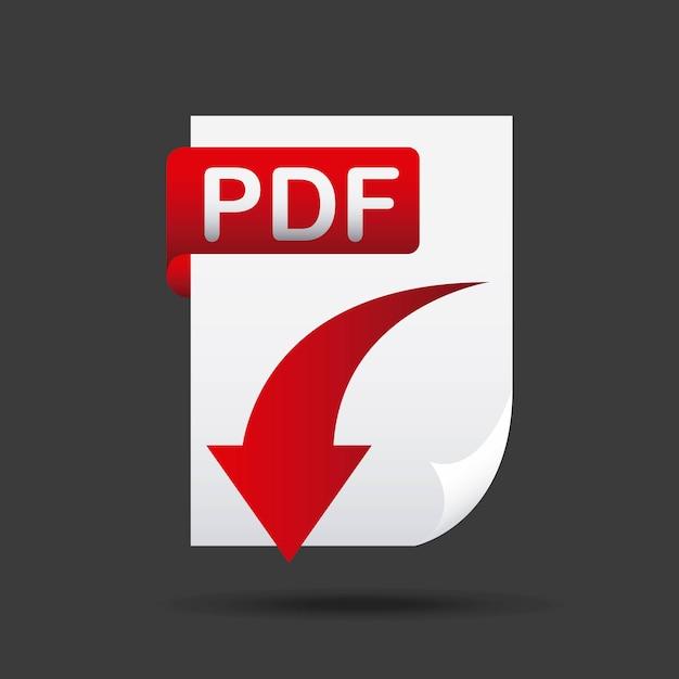 Ikona Pobierz Plik Strzałki Premium Wektorów