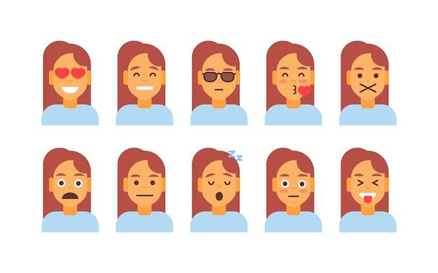 Nagłówki profilów kobiet