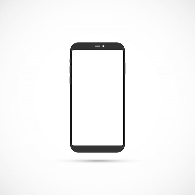 Ikona smartfona. Premium Wektorów