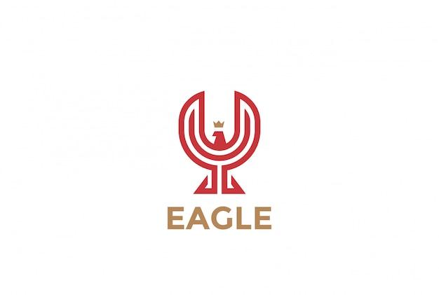 Ikona Wektor Eaglelogo. Darmowych Wektorów