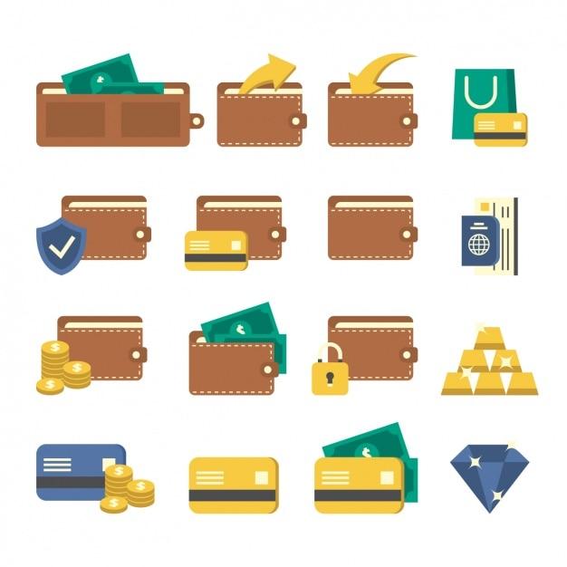 Ikony Projektowanie Kieszonkowe Darmowych Wektorów