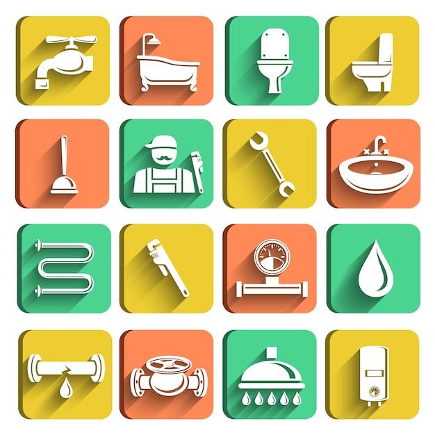 Ikony Sanitarne Darmowych Wektorów