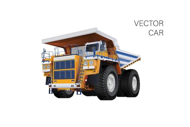 Ilustracja Ciężarówki Premium Wektorów