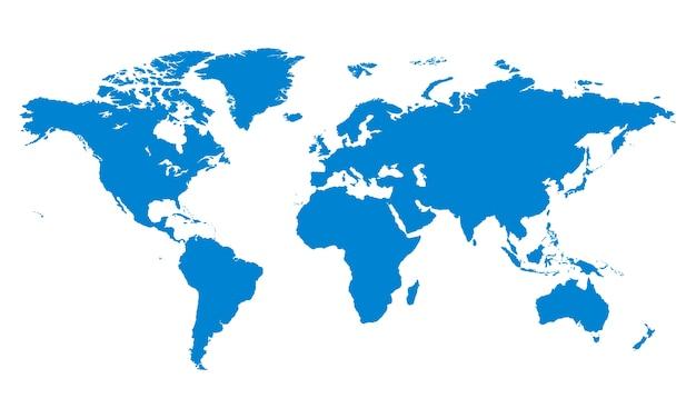 Ilustracja Globalnej Ikony Darmowych Wektorów