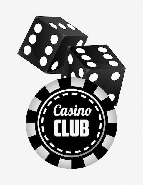 Ilustracja klub kasynowy Darmowych Wektorów