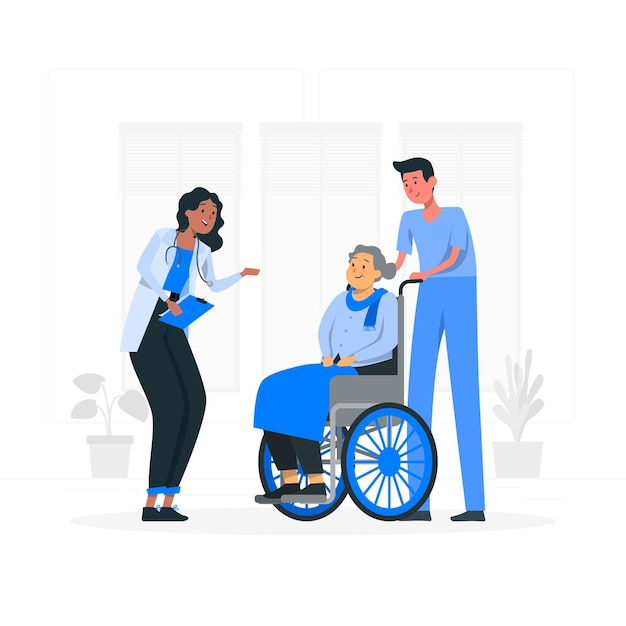 Ilustracja Koncepcja Opieki Medycznej Darmowych Wektorów