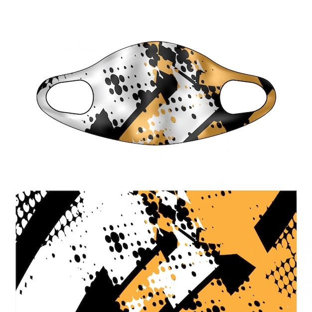 Ilustracja Maska Do Nurkowania Premium Wektorów