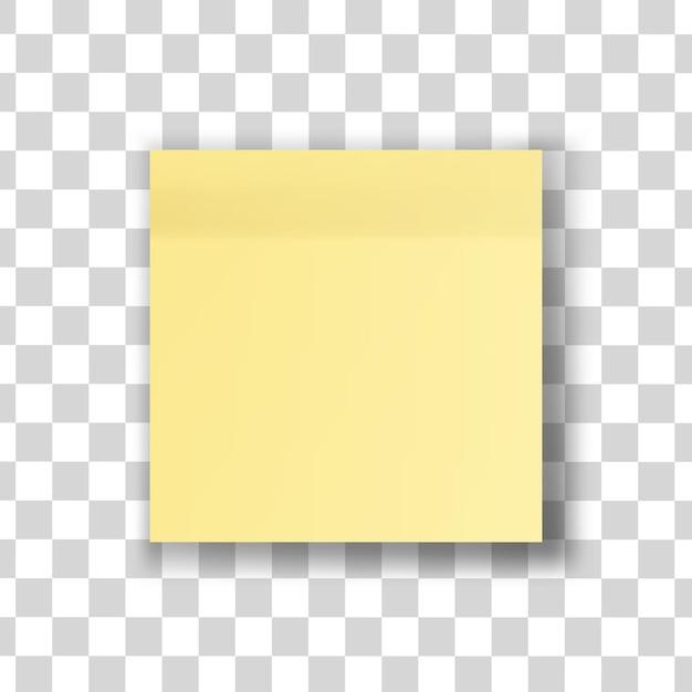 Ilustracja Na Białym Tle Uwaga żółty Kij Premium Wektorów