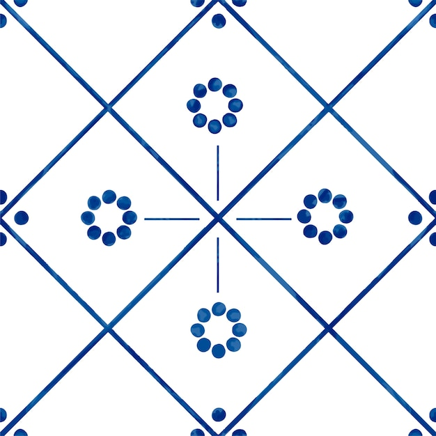 Ilustracja Płytki Textured Wzór Darmowych Wektorów