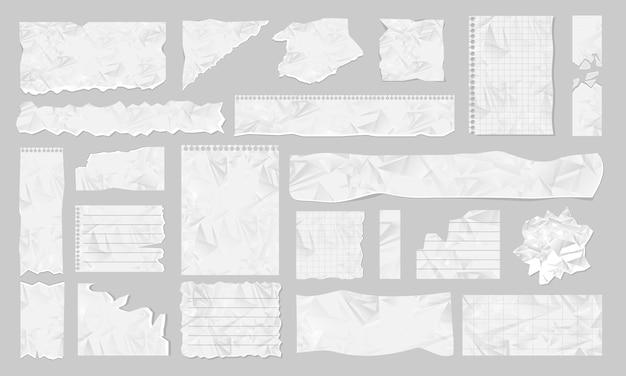 Ilustracja Pusty Zgrywanie Papieru Premium Wektorów