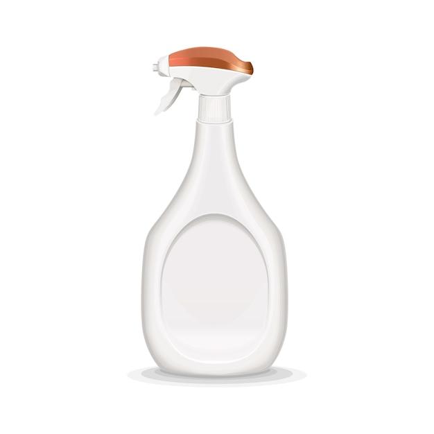 Ilustracja realistyczne butelki z rozpylaczem Darmowych Wektorów
