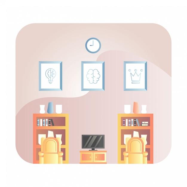 Ilustracja Salonu Premium Wektorów