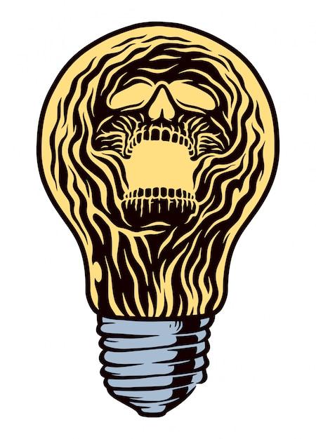 Ilustracja światła Ducha Premium Wektorów
