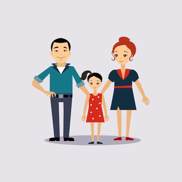 Ilustracja Ubezpieczenia Rodziny I Edukacji Premium Wektorów