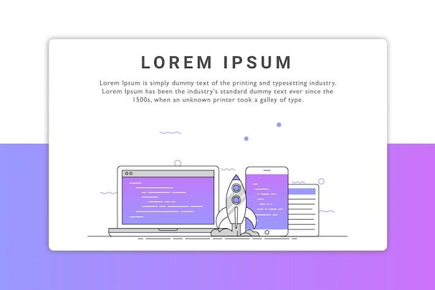 Ilustracja urządzenia Premium Wektorów