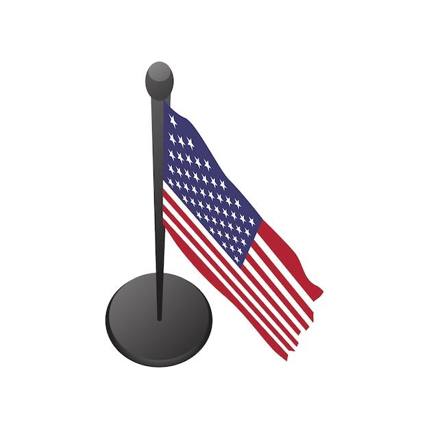 Ilustracja Usa Flaga Wektor Darmowych Wektorów