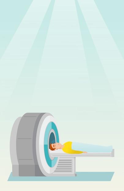 Ilustracja Wektorowa Rezonansu Magnetycznego. Premium Wektorów