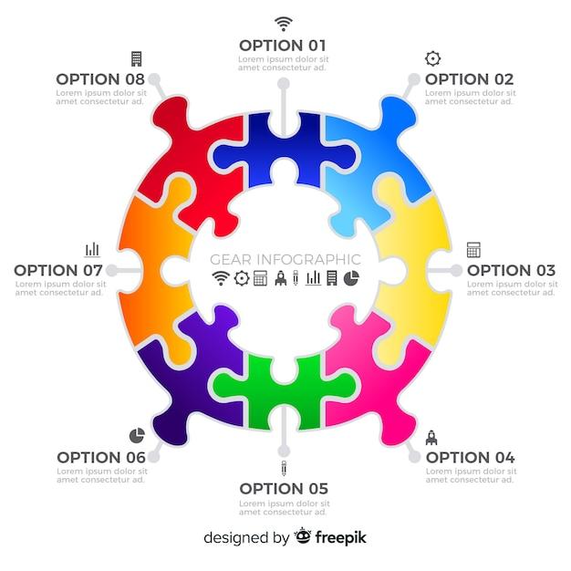 Infografika narzędzi Darmowych Wektorów