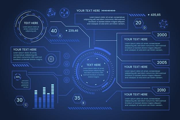 Infografika Technologii Darmowych Wektorów
