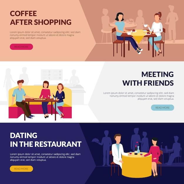 Informacje na temat obsługi restauracji Darmowych Wektorów