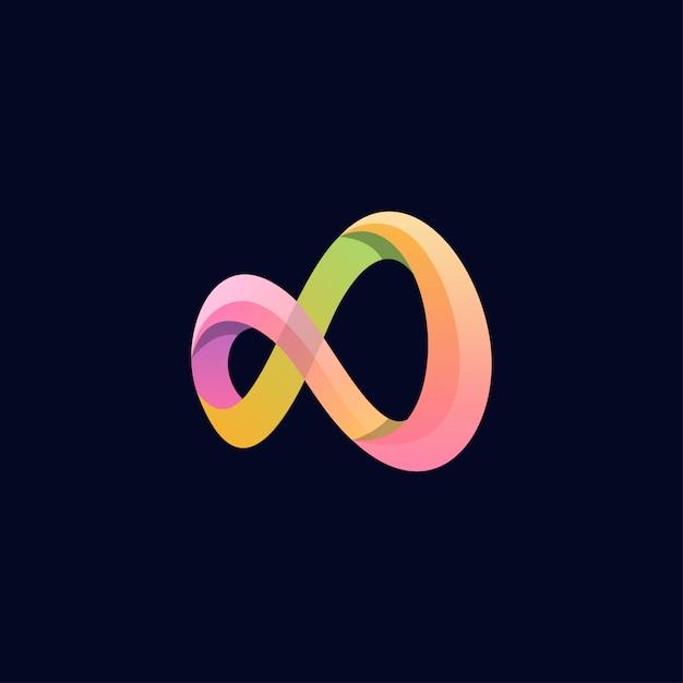 Inspiracja Projektowaniem Logo Nieskończoności Niesamowite Premium Wektorów