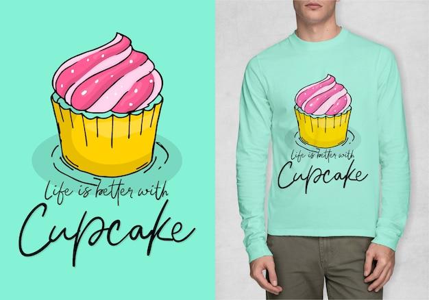 Inspiracja Typografia Do Koszulki Premium Wektorów