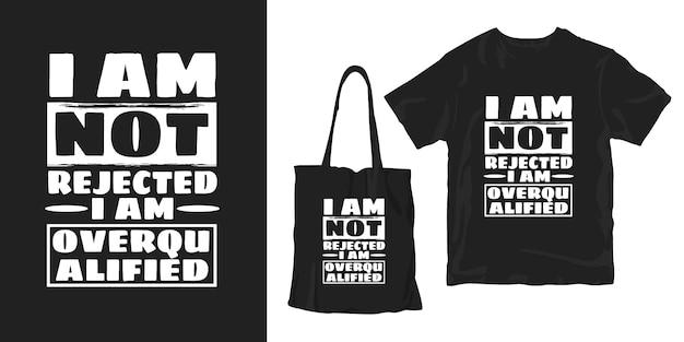 Inspirujące Słowa Typografia Plakat T-shirt Design Merchandisingu Premium Wektorów
