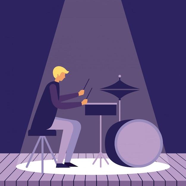 Instrumenty Muzyczne Ludzi Darmowych Wektorów