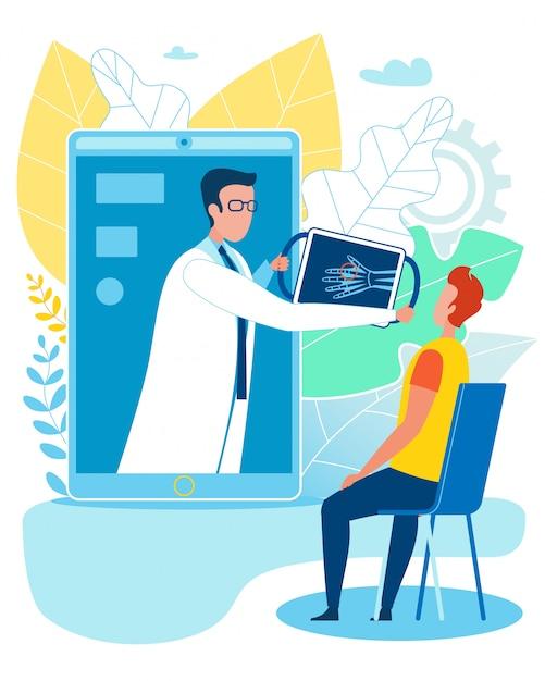 Inteligentna Pielęgnacja Kości Medycznych I Leczenie Złamań Online Premium Wektorów