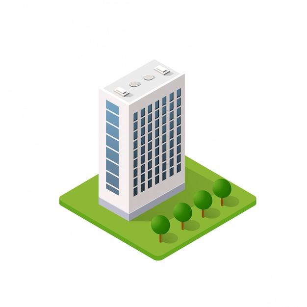 Inteligentny Dom W Budynku Premium Wektorów