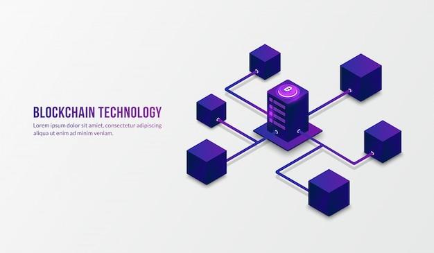 Izometryczna Technologia Blokowania I Koncepcja Dużych Danych Premium Wektorów