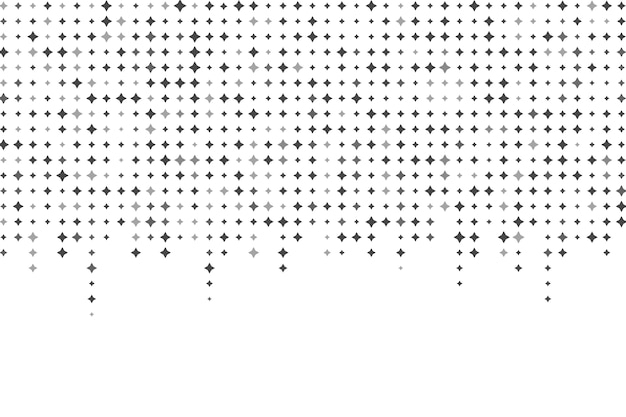 Jasne gwiazdy tło w płaska konstrukcja Darmowych Wektorów