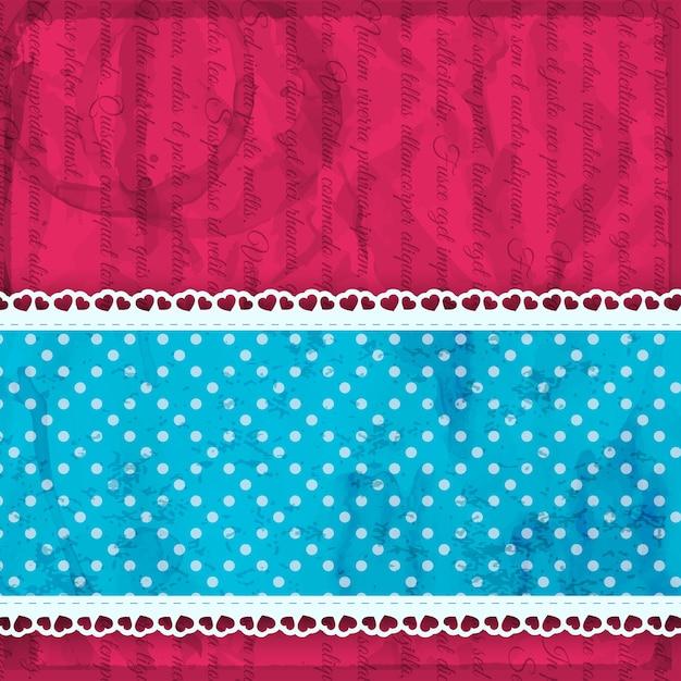 Jasny Różowy Valentine Z Cienkim Paskiem Tkaniny I Ilustracji Wektorowych Z Falbanami Darmowych Wektorów