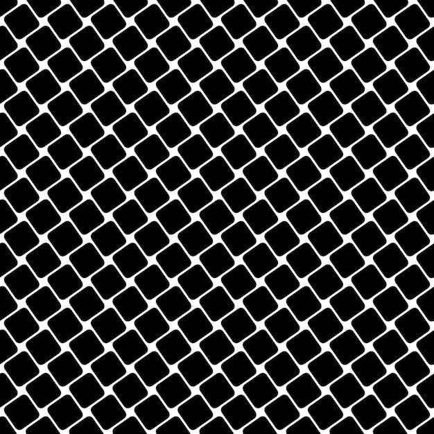 Jednolite Czarno-bia? E Kwadratowy Wzór - Geometryczne Halftone Streszczenie Wektora Tle Projekt Graficzny Darmowych Wektorów