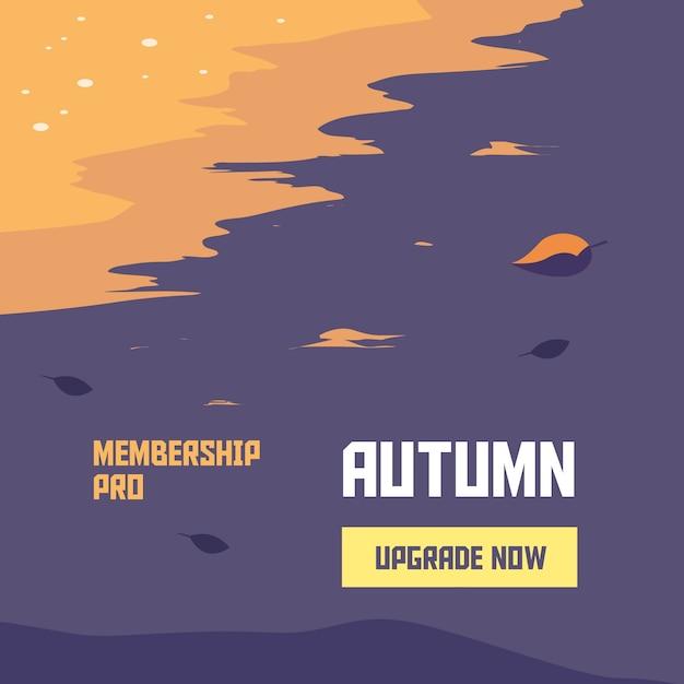 Jesienna kampania członkowska Premium Wektorów