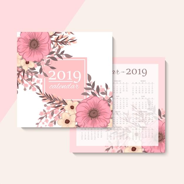 Kalendarz Darmowych Wektorów