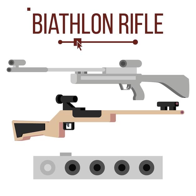 Karabin Biathlonowy Premium Wektorów